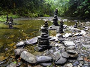 Rocks in equilibrium, St-Basile, N.B., Canada - 2012