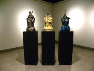 Golden Griffon, Bee and Fish Bone Goddess