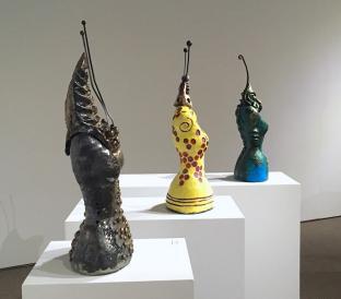 Trilobite Goddess, Bee and Fish Bone Goddess
