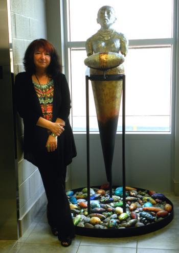 At the Edmundston Art Centre