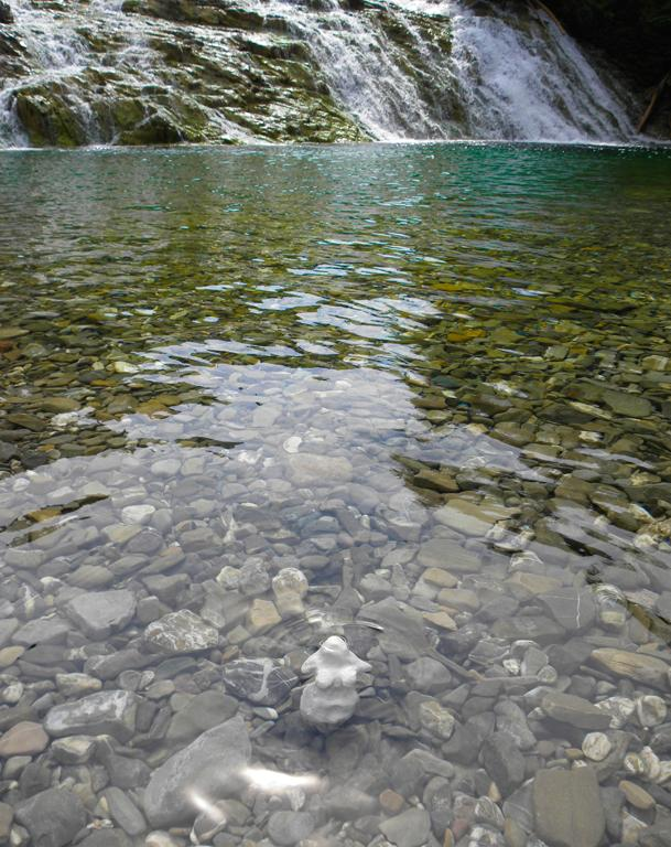 Rivière Chutes aux émeraudes, Percé, Qc. - 2016