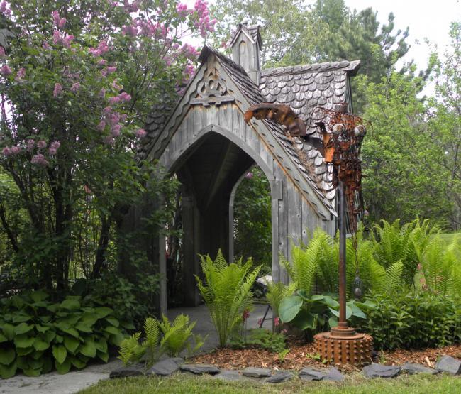 "In my garden, ""Moth"", created in 2008"